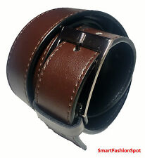 REAL GENUINE FAUX LEATHER BROWN BELT FOR MEN'S 100% FREE SHIPPING AT BEST PRICE
