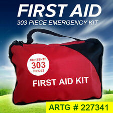 303 Piece Emergency First Aid Kit - A Must Have for Every Family ARTG