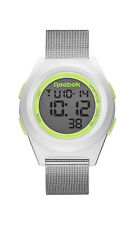 Reebok DI-R Block Party Silver Green Quartz Digital Unisex Watch RC-DBP-G9-PWS1