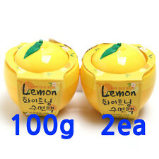 Baviphat, Lemon whitening sleeping pack 100g(1+1), Korea cosmetic, Free shipping