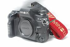 Minolta Maxxum 9 / Dynax 9 α-9 35mm SLR Film Camera  SN16902540  **Near Mint**
