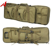 "33"" Heavy Duty Tactical Military Hunting Rifle Gun Shotgun Carry Case Backpack"