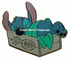 DISNEY AUCTIONS Pin LE 500 - Stitch Sleeping in Pineapple Box
