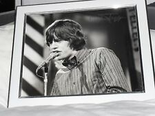 Mick Jagger AUTHENTIC Signed Framed Picture with COA