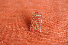 18013 PIN'S PINS LA POSTE TELECOM CABINE TELEPHONIQUE BRITISH TELEPHONE BOOTH