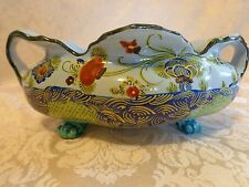 VINTAGE ITALIAN POTTERY, CLAW FOOT BOWL MARKED CELLINI
