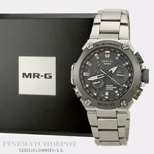 Authentic Casio G-Shock Silver Atomatic Solar Hybrid Men's Watch MRGG1000D-1A
