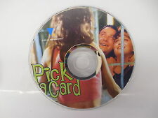 Pick A Card DVD  Israel Romantic Comedy Hebrew with English Dub or Sub NO CASE