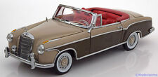 1:18 Sunstar Mercedes 220 SE W128 Convertible 1958 lightbrown/brown