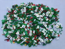 LEGO 100 NEW Random Pieces Of Garden Accessories Plants Flowers Grass Stem Fence