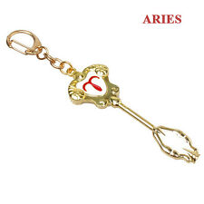 Fairy Tail ZODIAC Star Lucy summon KEY Constellation KEYCHAIN Cosplay Aries New