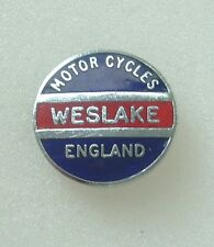 WESLAKE BADGE ENAMEL LAPEL PIN BADGE