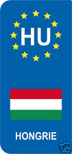 2 Stickers Europe HONGRIE