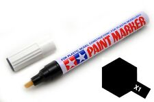 Tamiya 89001 X-1 Gloss Black Enamel Paint Marker Plastic Model Craft Tools