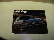 1976 Chevy Vega Dealer Sales Brochure 76 Chevrolet Cosworth GT Wagons
