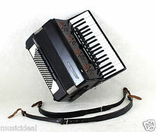 USED TOP GERMAN PIANO ACCORDION WELTMEISTER STELLA - 96 BASS, 16 reg. (11+5 sw.)