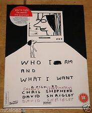 DAVID SHRIGLEY & CHRIS SHEPHERD SIGNED WHO I AM AND WHAT I AM LTD EDITION DVD