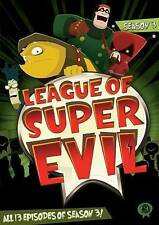 League of Super Evil: Season 3 (DVD, 2014, 2-Disc Set)  Used (110478)