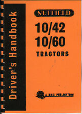 Nuffield 10/42 & 10/60 Tractor Drivers Handbook