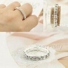 Fingerring Zehenring ausziehbar Kristall Ringe Damen Modeschmuck