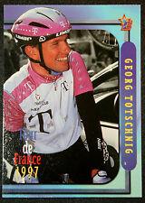 Tour de France  Cycling  Totschnig  Deutsche Telekom  Colour Action Card