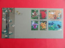 2006 FDC Singapore First Day Cover - Singapore - Japan Joint Issue Flowers