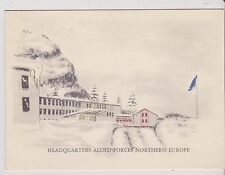 Military Christmas Cards - Allied AF Northern Europe - undated -   (MAF19)
