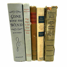 5 Vintage And Collectable Books: Gone With The Wind; My Friend Flicka ...