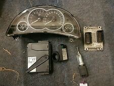Corsa c z12xe ecu kit complete bsi key ignition barel 99k vgc  merriva