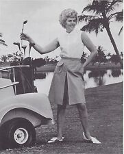 1970s AD SHEET #2812 - HARBURT ETONIC WOMENS GOLF CLOTHING - POPLIN CULOTTE