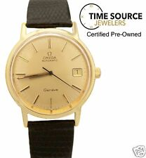 Vintage Omega Geneve Automatic Gold Filled 35mm Circa 1970s Watch