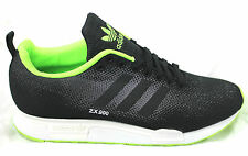 Adidas ZX 900 Weave B26524 Flyknit Black Sneakers Trainers Running Fashion New