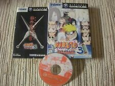 GAMECUBE GAME CUBE NINTENDO NARUTO GEKITOU 3 JAPAN IMPORT USADO BUEN ESTADO