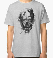 The Walking Dead - Rick Daryl Michonne Carl Zombie Tshirt Shirt Tee L NEU NEW