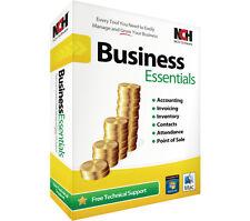 NCH Software Business Essentials Full Edition Windows & Mac CD