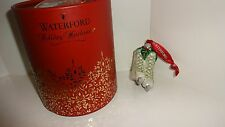 *NEW* Waterford Crystal Christmas Ornament 2016 HOLLY GLITTER ICE SKATES New Box