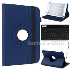 "US For 7"" 7.9"" 8"" Android Tablet Bluetooth Keyboard +Rotate Leather Case Cover"