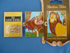 LION KING   Disney Pin 2016 TIMELESS TALES  Limited Edition NEW on card