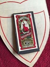 National Life Accident Insurance Vintage Antique Needle Book Advertising Sharps
