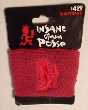 INSANE CLOWN POSSE Hatchetman Wristband Sweatband NEW OFFICIAL MERCHANDISE ICP
