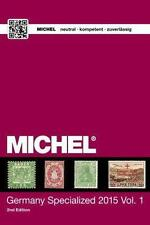 MICHEL Germany Specialized Catalogue 2015 Vol. 1 in English, hardcover NEU