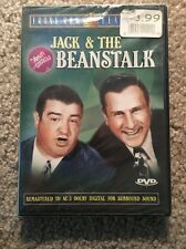 Jack and the Beanstalk Bud Abbott, Lou Costello (DVD, 2002) New Sealed