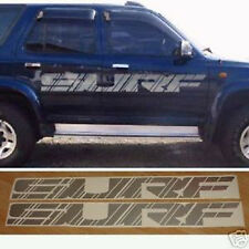 2x large SURF side decals full size. Toyota Hilux Surf