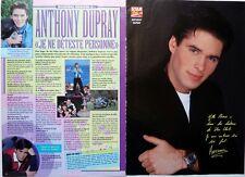 ANTHONY DUPRAY =  Coupure de presse 2 pages 1995 (AB Production)