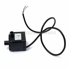 12V DC CPU Cooling CAR Brushless Water Oil Pump Waterproof Submersible Black
