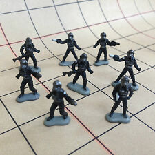 STAR WARS Micro Machines - IMPERIAL PILOTS - Mini Action Figures loose lot of 8