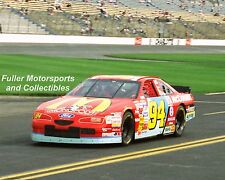 RARE TODD BODINE IN BILL ELLIOTT'S #94 MONOPOLY McDONALD'S FORD 1996 8X10 PHOTO