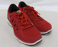 Men's Nike Dual Fusion Run 2 Red Athletic Shoes w Black, Size 9.5