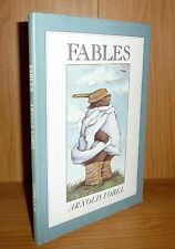 FABLES by Arnold Lobel TRUE HB 1st! CALDECOTT Winner! SUPER SCARE!!!! BONUS Xtra