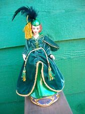 Barbie  - SCARLETT O'HARA Music Box Figurine - LE#2448 -